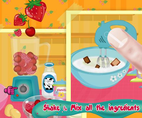 Ice cream maker - screenshot