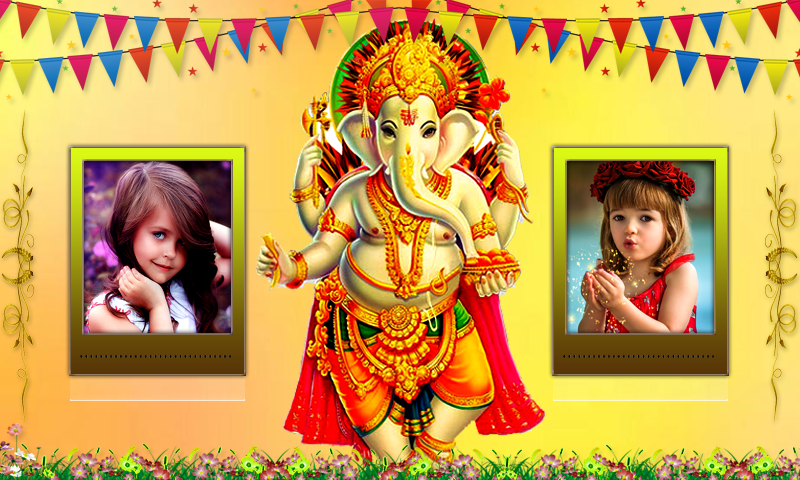 Ganesh Photo Frames Dual- screenshot