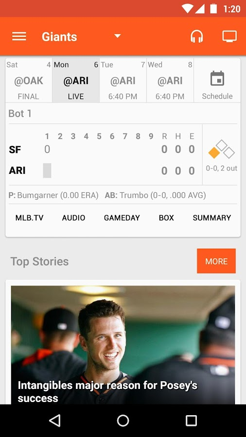 MLB.com At Bat- screenshot