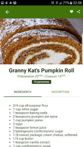Halloween Recipes 1.0.1 screenshots 5