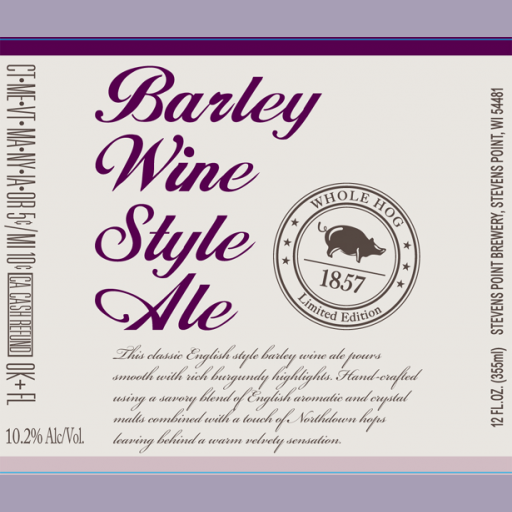 Logo of Whole Hog Barley Wine