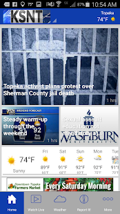 KSNT Kansas First News- screenshot thumbnail