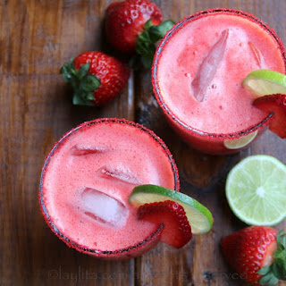 Strawberry Lime Margarita Recipes