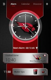 Football-AC GO Clock Theme- screenshot thumbnail