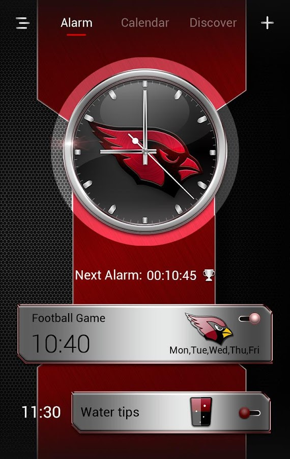 Football-AC GO Clock Theme- screenshot