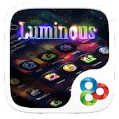 Luminous GO Launcher Theme