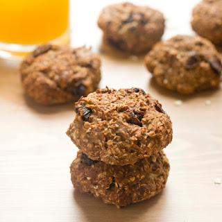 Healthy Gluten-Free Banana Protein Oat Cookies.