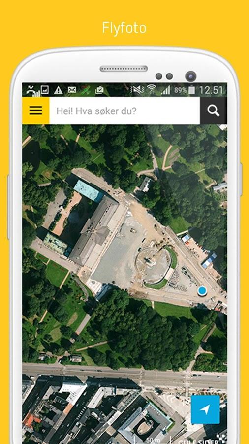 GuleSider - Søk lokalt - screenshot