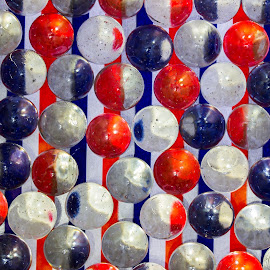 Simply Spheres by Anatoliy Kosterev - Abstract Patterns ( stripes, spheres, glass, pattern, circles )
