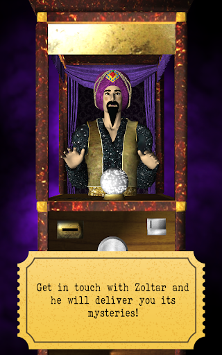 Zoltar fortune telling 3D screenshot 2