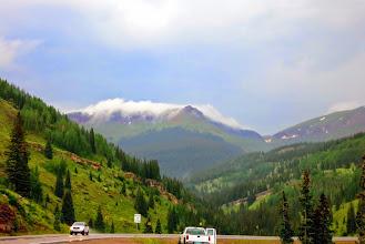 Photo: Driving down 550: Million Dollar Highway