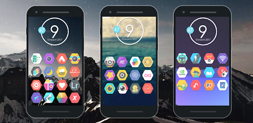 Zirex - Icon Pack app for Android screenshot