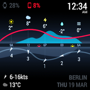 InstaWeather for Android Wear screenshot 11