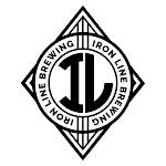 Logo of Iron Line Shuttle Train White