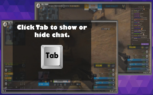 Twitch Chat Overlay In Game Fullscreen