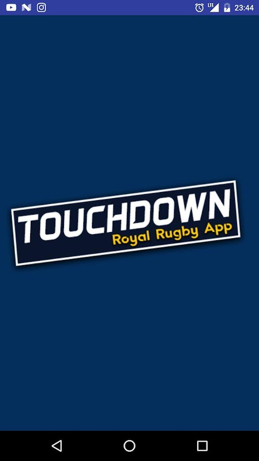 TouchDown - Royal Rugby App- screenshot