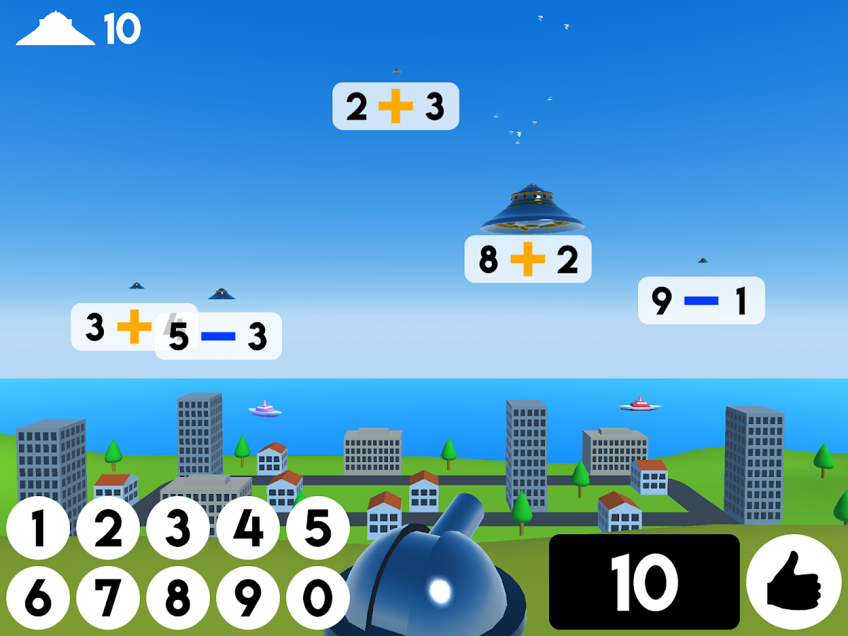 Maths Attack - Brain Training- screenshot