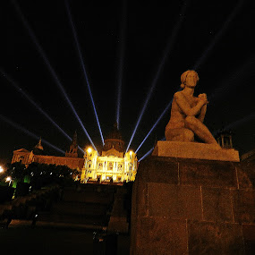 Lady & the light by Vivek Suryanarayana - Buildings & Architecture Statues & Monuments