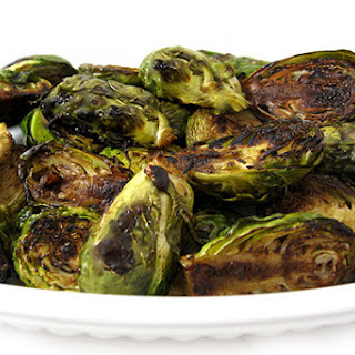 Delicious Balsamic Brussels Sprouts.