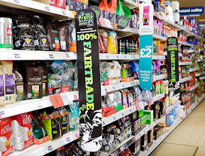 Photo: Fairtrade in Sainsbury's for Fairtrade Fortnight