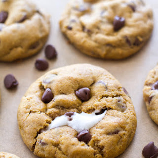 Pumpkin Chocolate Chip Marshmallow Cookies.