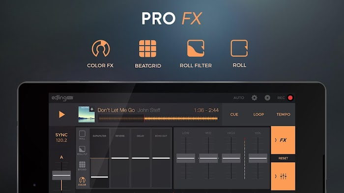 edjing PRO - Music DJ mixer - screenshot