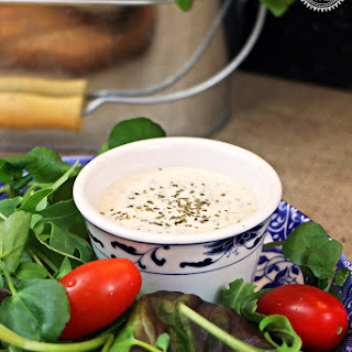 Creamy Italian Salad Dressing - great with Pizza!.