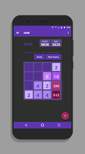 2048 puzzle game - dare to win 2048 game Screenshot
