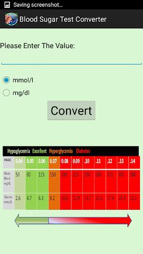 血糖検査コンバータ