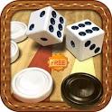 Backgammon Board Game (Free) icon