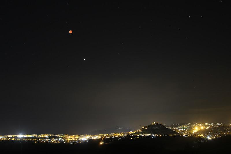 Luna rossa e Marte vegliano Campobasso di micmoffa