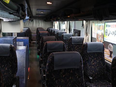 名鉄バス「名古屋~新潟線」 2607 車内