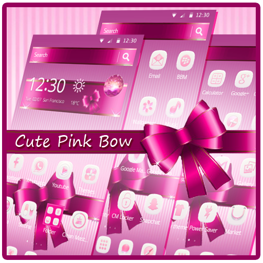 Cute Pink Bow Launcher