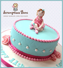 Photo: Ballet Dancer by Scrumptious Buns (7/10/2012) View cake details here: http://cakesdecor.com/cakes/21090