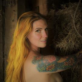 Dee by Jim Oakes - Nudes & Boudoir Artistic Nude ( outdoors, barn, model, nude, female )