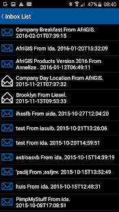 AfriGIS Navigator screenshot