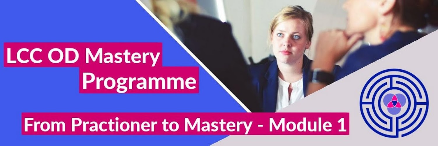 OD Practitioner to Mastery -  Module 1 Nov 2019