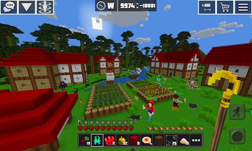 PlanetCraft: Block Craft Games MOD APK (Unlimited Money) 1