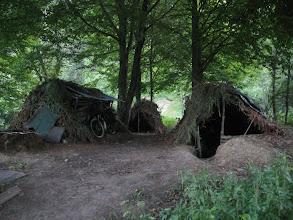 Photo: survivalowe szałasy ... tam nocowałem :)