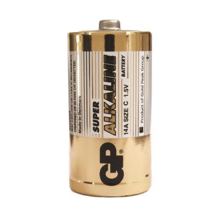 Batteri GP Alkaline C/LR14 2fp