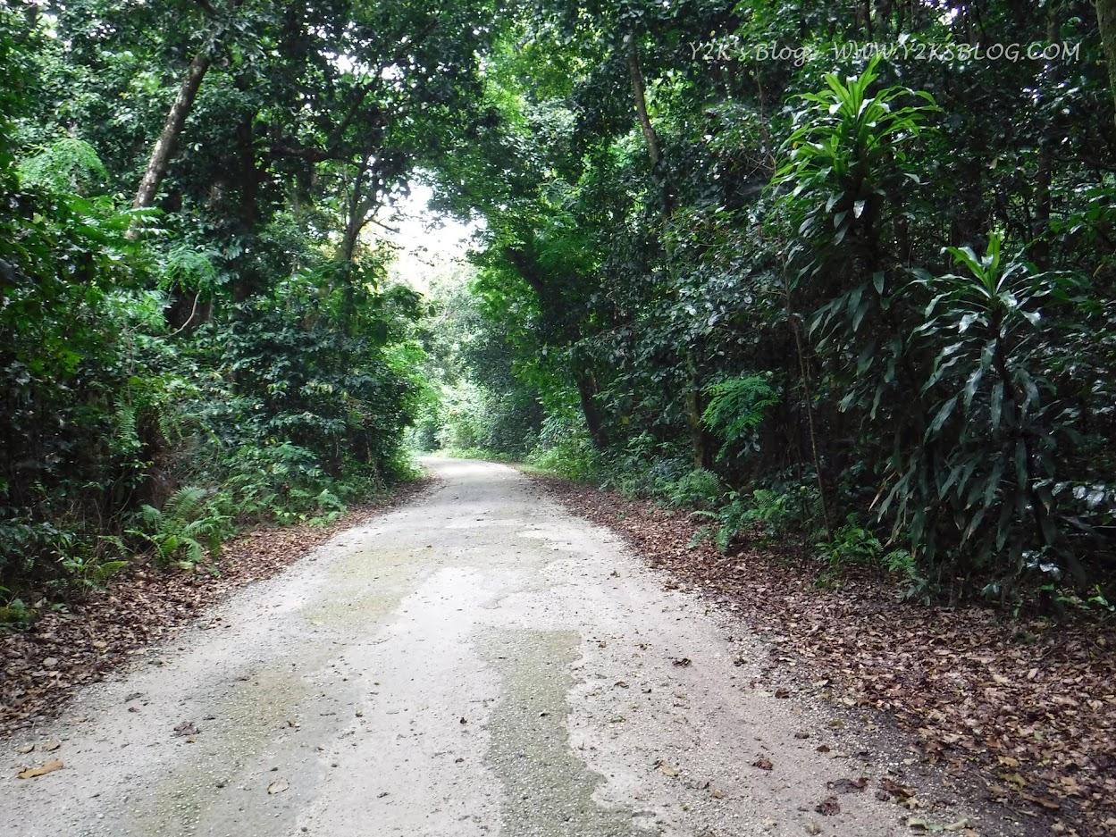 A zonzo per le stradine di Niue