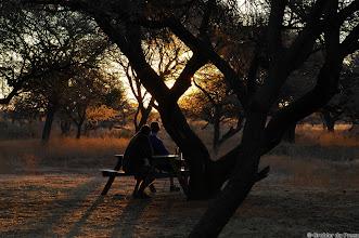 Photo: Sunset at the Haak en Steek Camp Site, Mokala National Park.