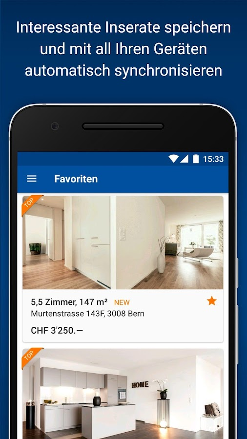 immoscout24 immobilien schweiz android apps auf google play. Black Bedroom Furniture Sets. Home Design Ideas