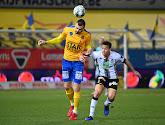 Alexander Vukotic kan Waasland-Beveren niet helpen in de strijd voor het behoud in de Jupiler Pro League