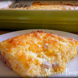 Egg and Cheese Bake