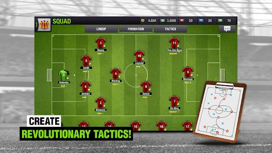 Top Eleven 2018 – Be a Soccer Manager MOD 2
