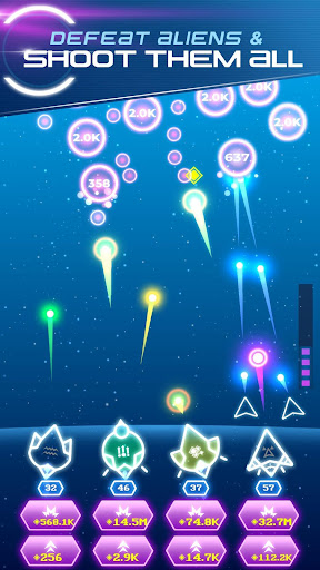 Non-Stop Space Defense - Infinite Aliens Shooter 1.1.0g app download 5