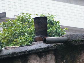 Photo: raindrop and chimny.