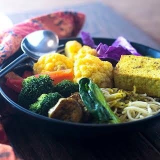 Thai Yellow Curry Tofu.