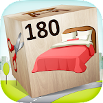 Free 180 Puzzles for Kids Icon